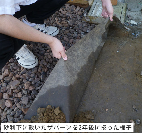 プランテックス(ザバーン) 防草シート 240BB 2m×30m【送料無料】
