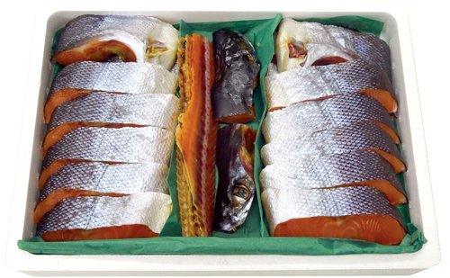 越後村上名産 塩引鮭(マルト鮮魚/村上)
