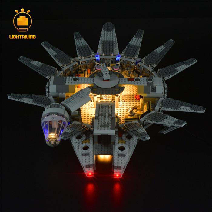 レゴ 75105 [LED ライト キット+バッテリーボックス] スター・ウォーズ ミレニアムファルコン STARWARS 電飾 ライトアップ セット