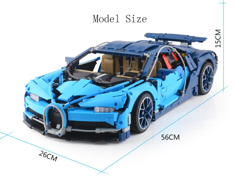 レゴ 互換品 ブガッティ・シロン テクニック 42083