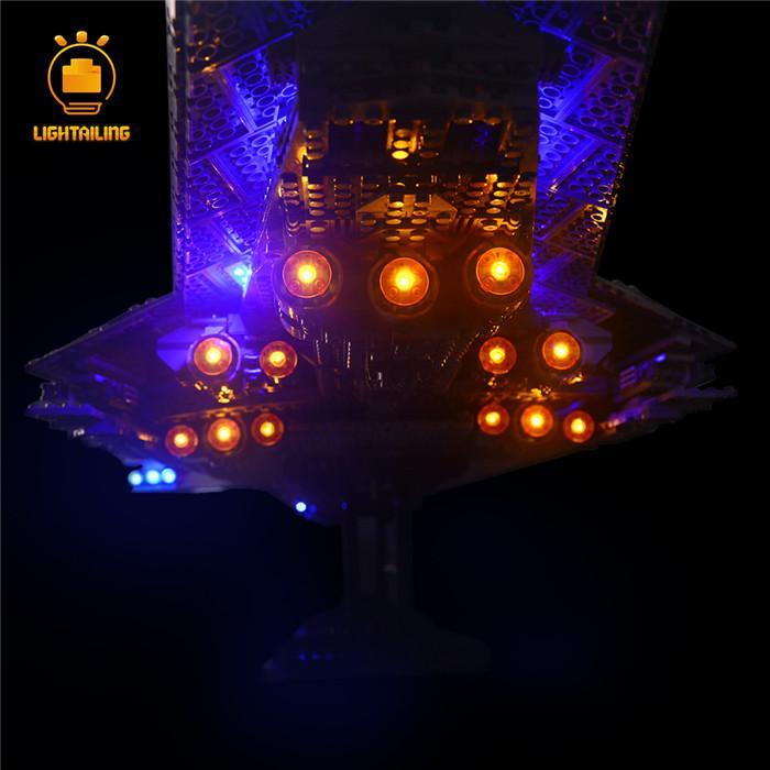 レゴ 10221 [LED ライト キット+バッテリーボックス] スターウォーズ スーパースターデストロイヤー Super Star Destroyer 電飾 ライトアップ セット