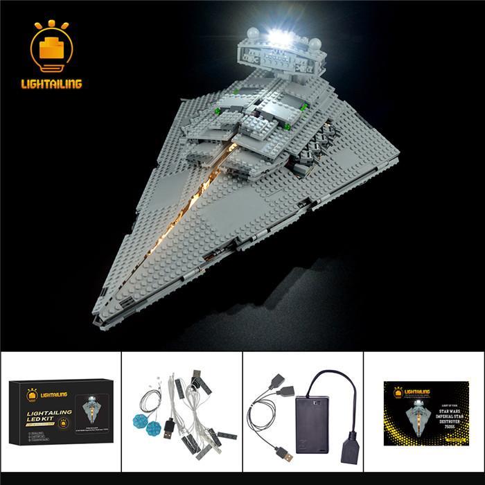 レゴ 75055 [LED ライト キット+バッテリーボックス] インペリアル スターデストロイヤー IMPERIAL STAR DESTROYER 電飾 ライトアップ キット