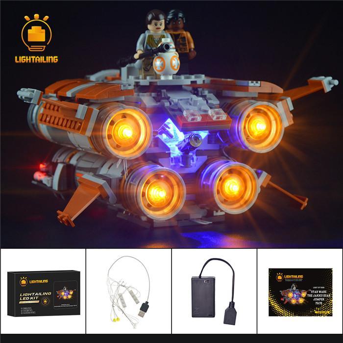 レゴ 75178 [LED ライト キット+バッテリーボックス] STAR WARS スターウォーズ ジャクーのクワッドジャンパー 電飾 ライトアップ キット