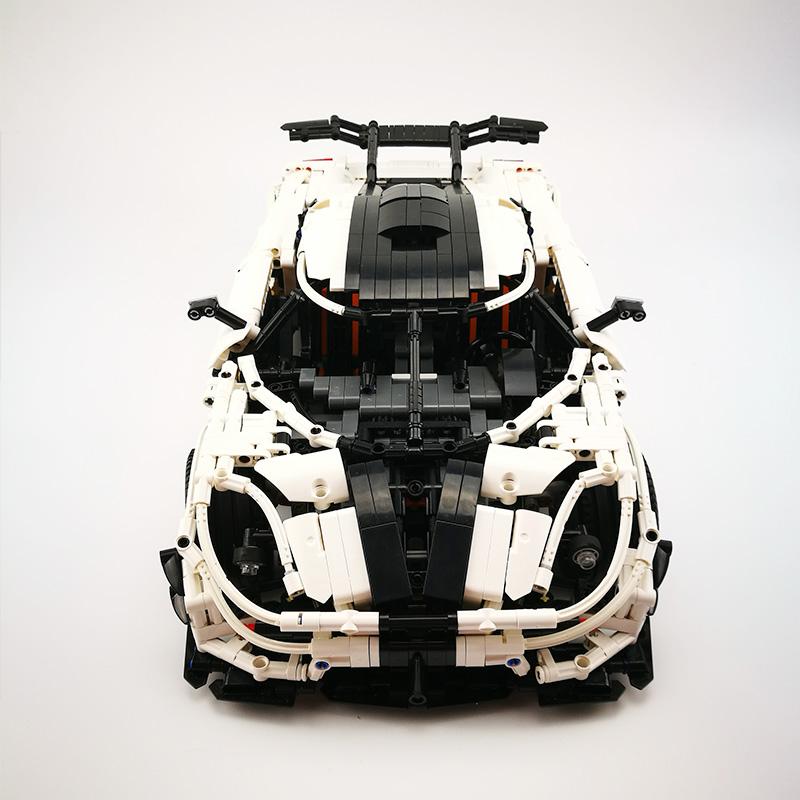 レゴ 互換品 ケーニセグワン テクニック MOC スーパーカー スポーツカー 乗り物 車 ブロック