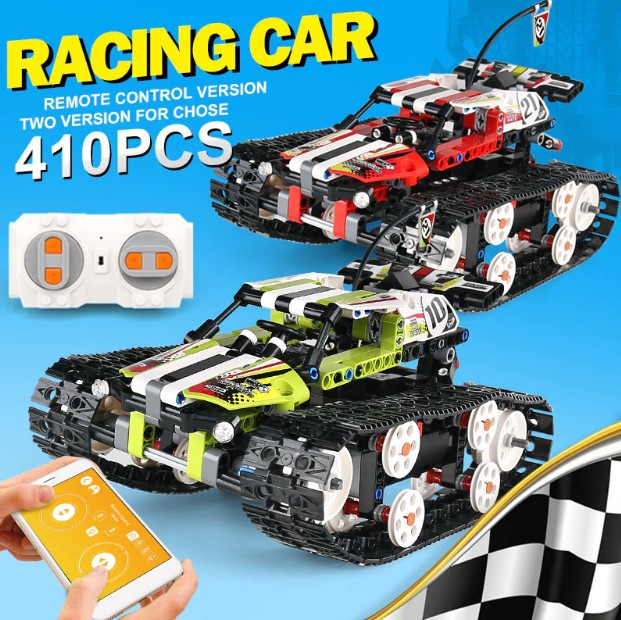 ☆2色☆レゴ テクニック 互換品 RCトラックレーサーキャタピラー