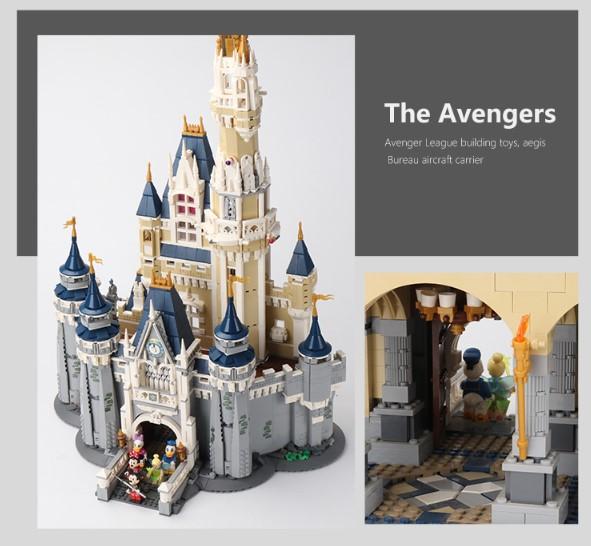レゴ 互換品 ディズニー プリンセスシンデレラ城 71040