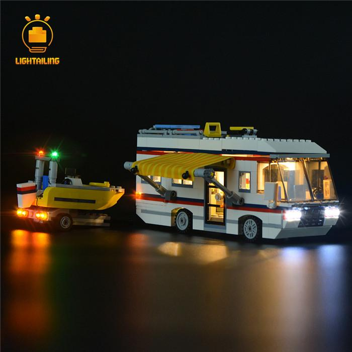 レゴ 31052 [LED ライト キット+バッテリーボックス] キャンピングカー Vacation Getaways 電飾 ライトアップ キット