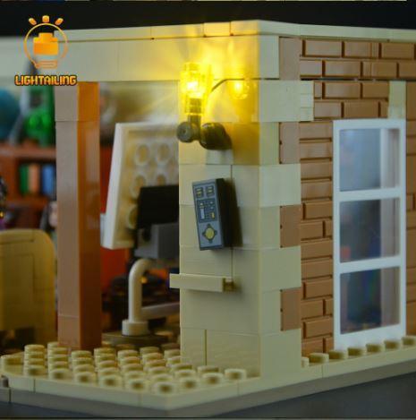レゴ 21302 [LED ライト キット+バッテリーボックス] ビッグバン・セオリー 電飾 ライトアップ セット