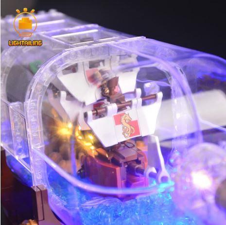 レゴ 21313 [LEDライトキット+バッテリーボックス] ボトルシップ Ship in a Bottle 電飾 ライトアップ セット