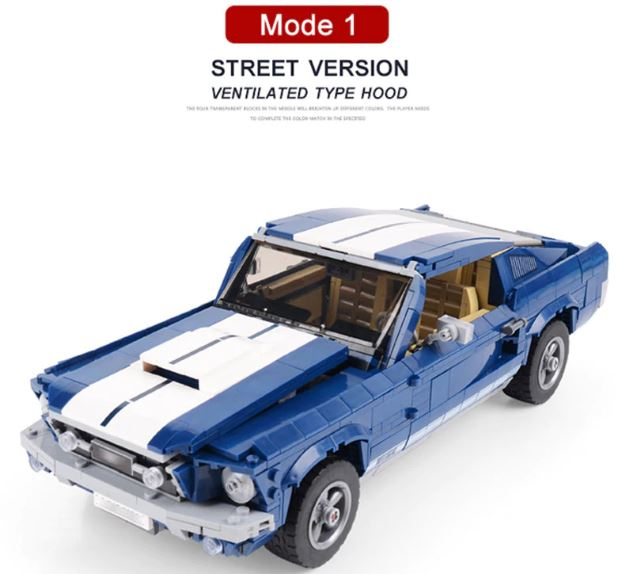 レゴ クリエイター 10265 互換品 フォード マスタング Ford Mustang GT compatible スーパーカー レースカー 自動車 21047