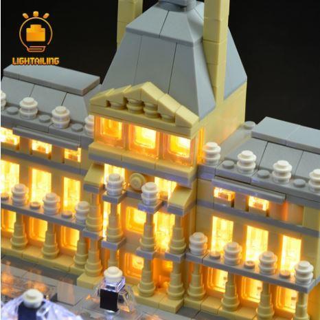 レゴ 21024 [LED ライト キット+バッテリーボックス] アーキテクチャー ルーブル美術館 電飾 ライトアップ セット