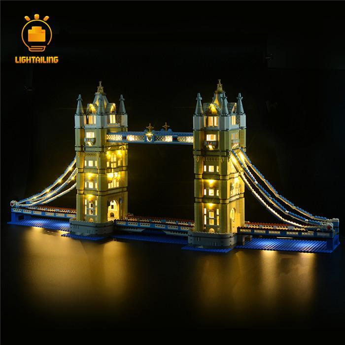 レゴ 10214 [LED ライト キット+バッテリーボックス] ロンドン タワーブリッジ 電飾 ライトアップ セット