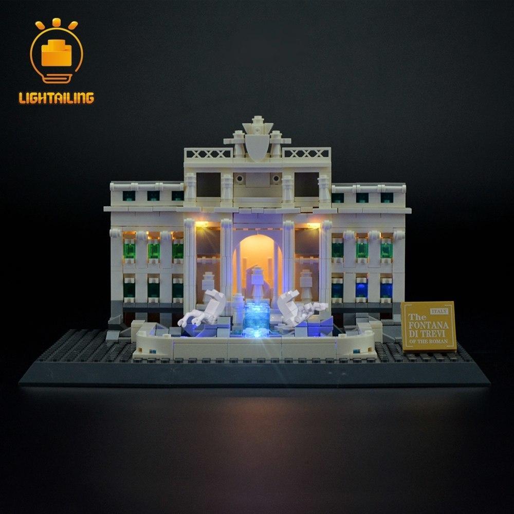 レゴ 21020 [LED ライト キット+バッテリーボックス] アーキテクチャ トレヴィの泉 TREVI FOUNTAIN 電飾 ライトアップ セット