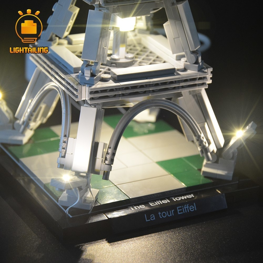 レゴ 21019 [LEDライトキット+バッテリーボックス] アーキテクチャー エッフェル塔 EIFFEL TOWER 電飾 ライトアップ セット