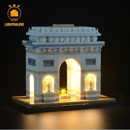 レゴ 21036 [LED ライト キット+バッテリーボックス] アーキテクチャー 凱旋門 ARC DE TRIOMPHE  電飾 ライトアップ セット