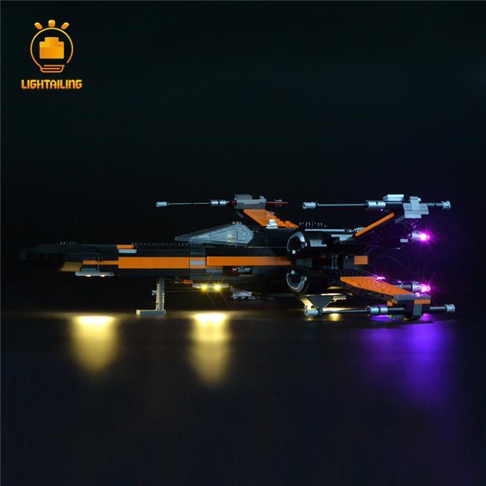 レゴ 75102 [LED ライト キット+バッテリーボックス] ポーのXウィング・ファイター POE'S X-WING FIGHTER Star Wars 電飾 ライトアップ セット