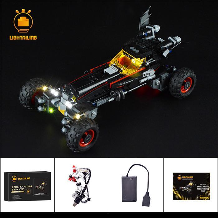 レゴ 70905 [LEDライトキット+バッテリーボックス] バットマンムービー バットモービル BATMAN MOVIE The Batmobile 電飾 ライトアップ セット