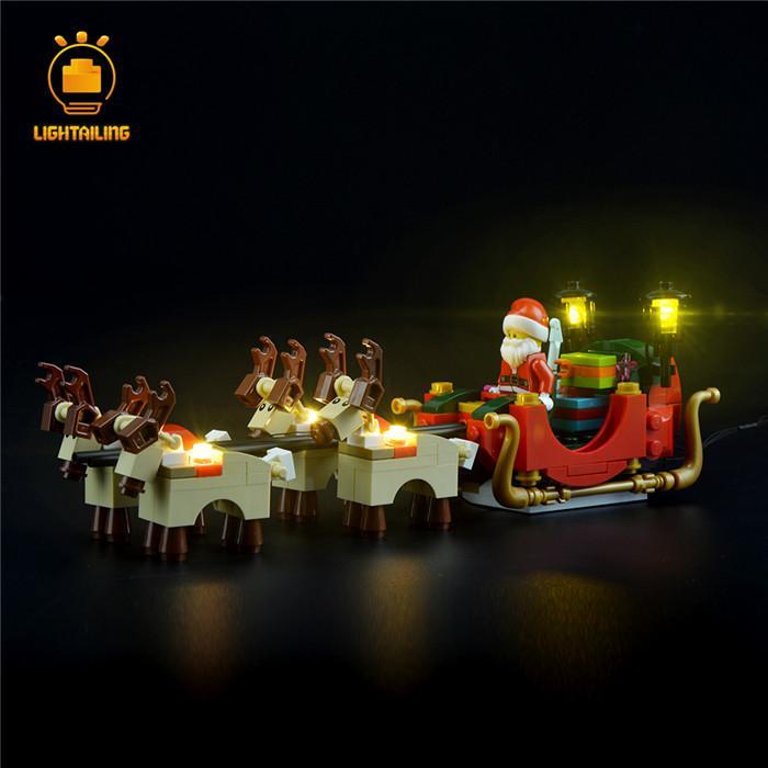 レゴ 10245 [LEDライトキット+バッテリーボックス] サンタのワークショップ Santa's Workshop 電飾 ライトアップ セット