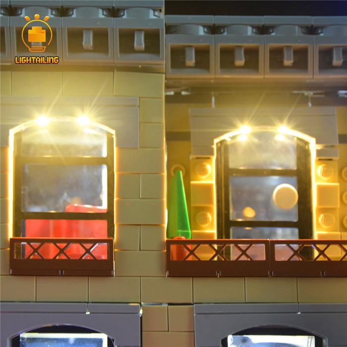 レゴ 10260 [LED ライト キット+バッテリーボックス] ダウンタウン ダイナー Down Town Diner 電飾 ライトアップ セット