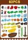 レゴ duplo デュプロ 互換 海賊 パイレーツ 秘密基地 お城 Pirates War 立体パズル 知育玩具 早期教育 STEM 論理的思考