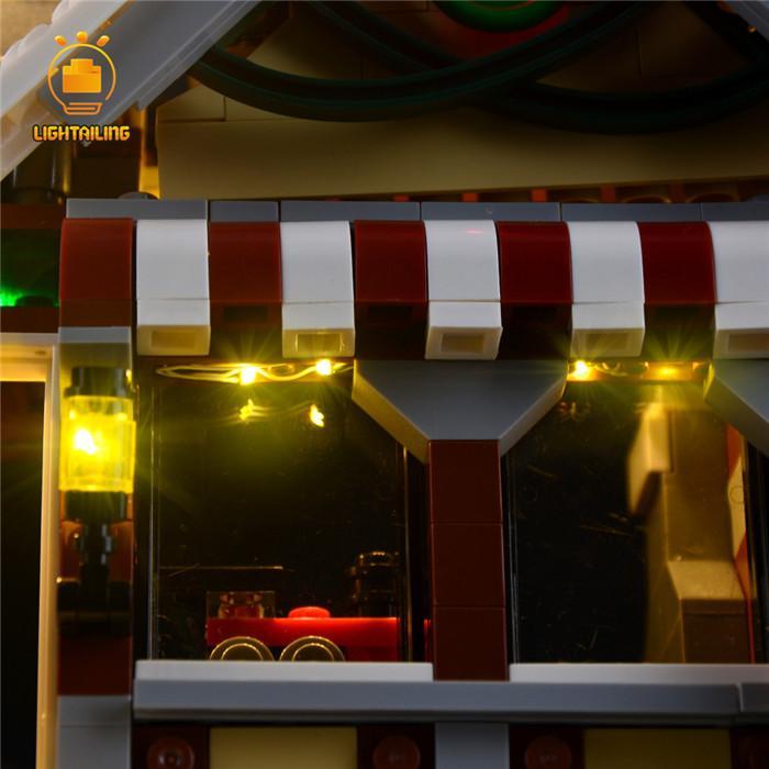 レゴ 10249 [LEDライトキット+バッテリーボックス] 冬のおもちゃ屋さん ウィンター トイショップ 電飾 ライトアップ セット