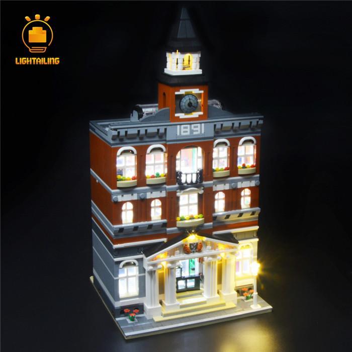 レゴ 10224 [LED ライト キット+バッテリーボックス] クリエイター タウンホール Town Hall 電飾 ライトアップ セット