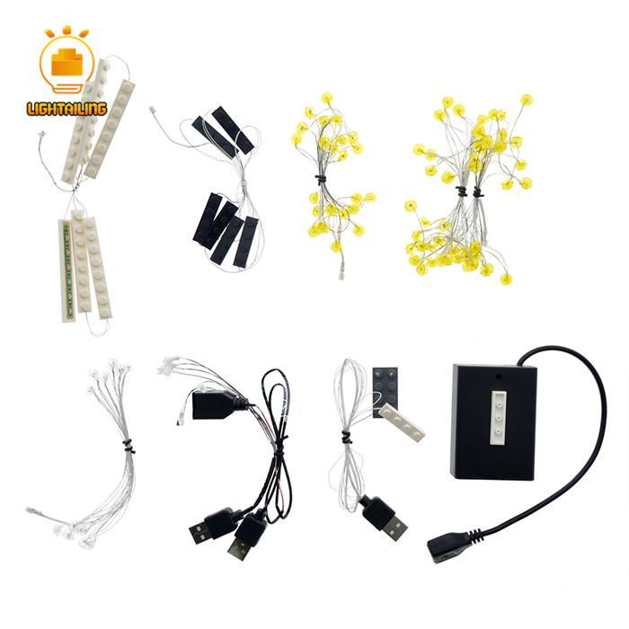 レゴ 10257 [LEDライトキット+バッテリーボックス] カルーセル メリーゴーランド New Carousel 電飾 ライトアップ セット