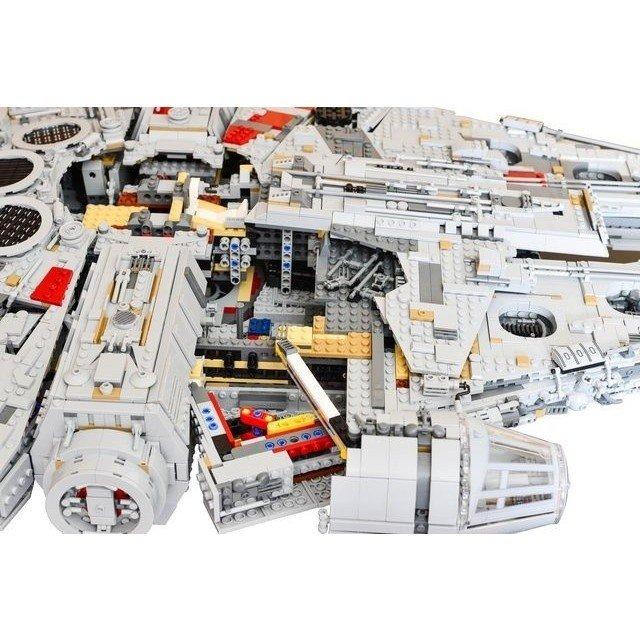レゴ 75192 互換品 アルティメット ミレニアムファルコン 8445ピースver. スターウォーズ
