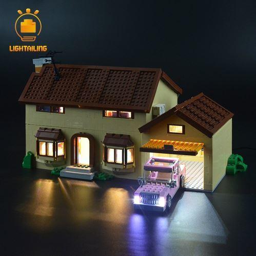 レゴ 71006 [LEDライトキット+バッテリーボックス] シンプソンズ ハウス The Simpsons House 電飾 ライトアップ セット