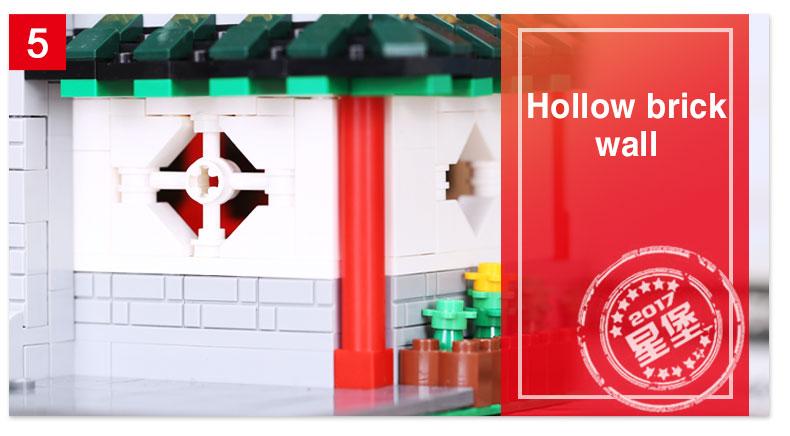 レゴ 互換品 moc アジアンシティー 中華街 武術 カンフー 道場 「龍虎堂」 中国建築 Chinese Martial Arts Studio ブロック 建物 おもちゃ XB01004