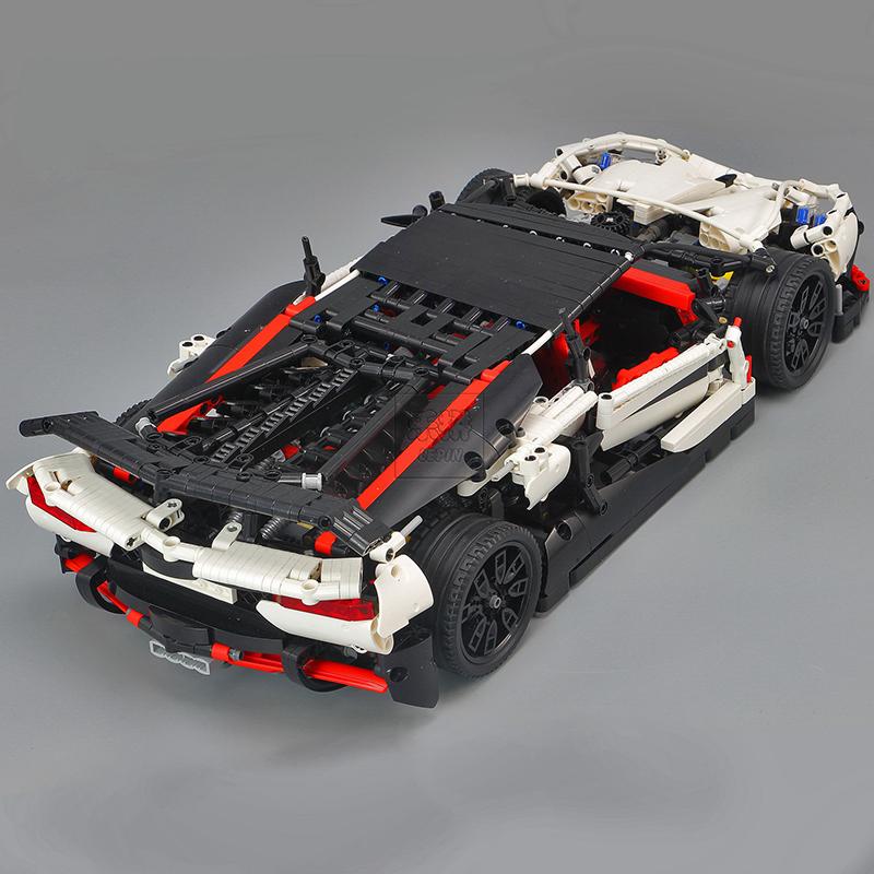 レゴ 互換品 ランボルギーニ アヴェンタドール スーパーカー テクニック