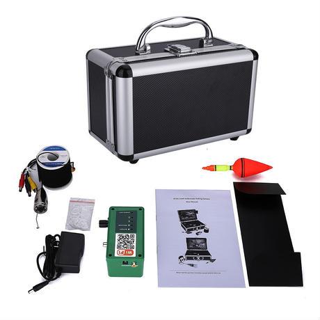 wifi 白色LED6灯 ステンレス 水中カメラ 釣りカメラ (ケーブル:15-50m) GAMWATER