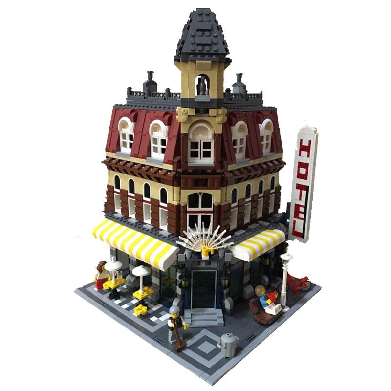 レゴ 10182 カフェコーナー 互換品 クリエイター