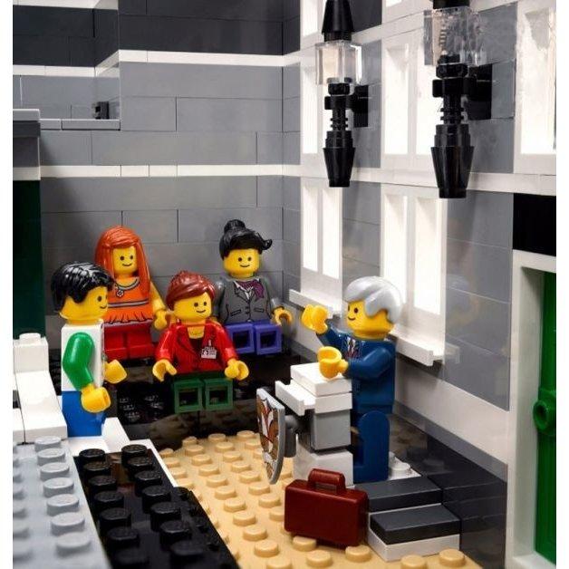 レゴ 10224 クリエイター タウンホール 互換品 ミニフィグ付き