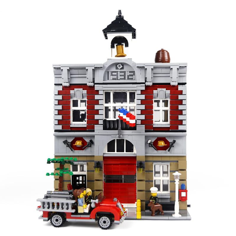 レゴ 10197 ファイヤーブリゲード 互換品 クリエイター