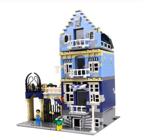 レゴ 10190 マーケットストリート 互換品 ファクトリー