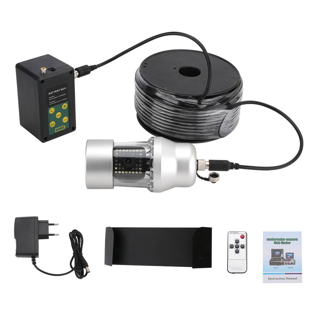 LED38灯 (赤外線LED18灯+白色LED20灯) リモコン付 360度回転 CCD 水中カメラ 9インチモニター ケーブル(20/50/100m) 釣りカメラ キット LED切替 GAMWATER  魚群探知機 ソナー フィッシュファインダー アクションカメラ