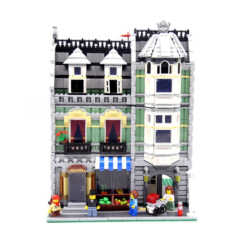 レゴ 互換品 10185 クリエイター グリーングローサー ミニフィグ付