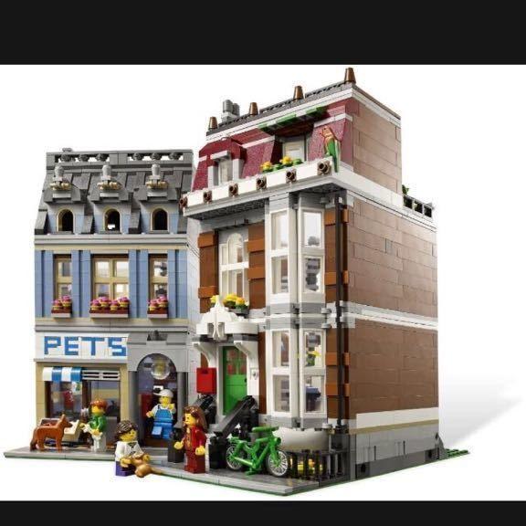レゴ 10218 ペットショップ 互換品 クリエイター