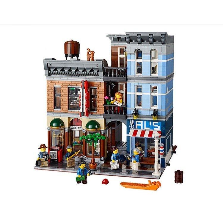 レゴ 互換品 10246 クリエイター 探偵事務所
