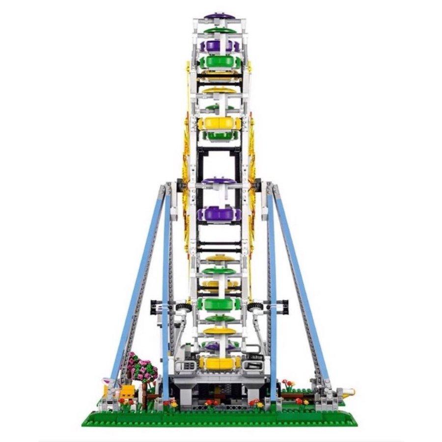 レゴ 10247 互換品 クリエイター フェリス ウィール 観覧車 ミニフィグ付 エキスパート Lepin