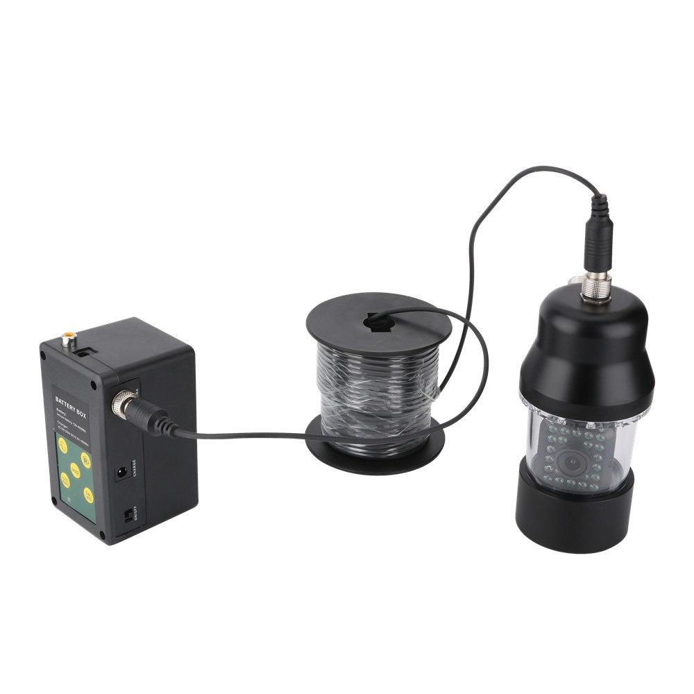 白色LED22灯 360度回転 CCD 水中カメラ 7インチモニター ケーブル(15/30m) 釣りカメラ キット GAMWATER  魚群探知機 ソナー フィッシュファインダー アクションカメラ