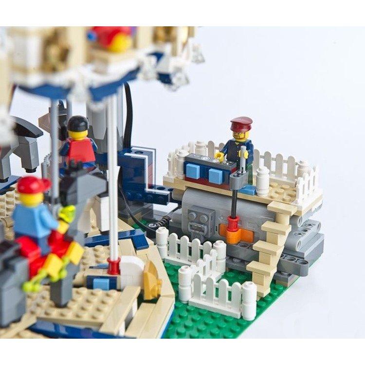 レゴ 10196 メリーゴーランド 互換品 鳴る!動く! クリエイター
