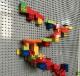 (148-296ピース) ブロック ルーピング コースター ビー玉転がし 玉ころがし マーブルラン マーブルレーサー ビーズコースター スロープトイ 立体パズル 知育玩具 早期教育 STEM 論理的思考 空間認知