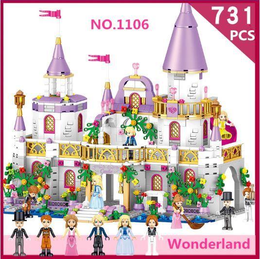 レゴ フレンズ 互換品 ウィンザー城 フルセット 2105ピース ミニフィグ付き 城+馬車+ゲート+城壁左右 プリンセス Windsor Castle 女の子 おもちゃ ブロック クリスマス プレゼント