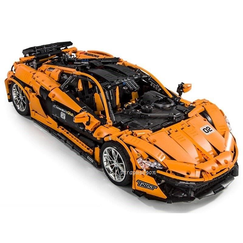 レゴテクニック 互換 マクラーレン P1 オレンジ