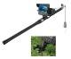 釣竿カメラ 水中カメラ 釣りカメラ アルミ 赤外線/白色LED6灯 4.3インチモニター 15m ケーブル GAMWATER 録画 SDカード