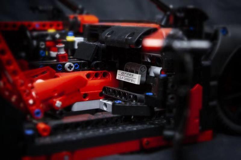 レゴ 42056 ブラックポルシェ911 GT3 RS 互換品 テクニック