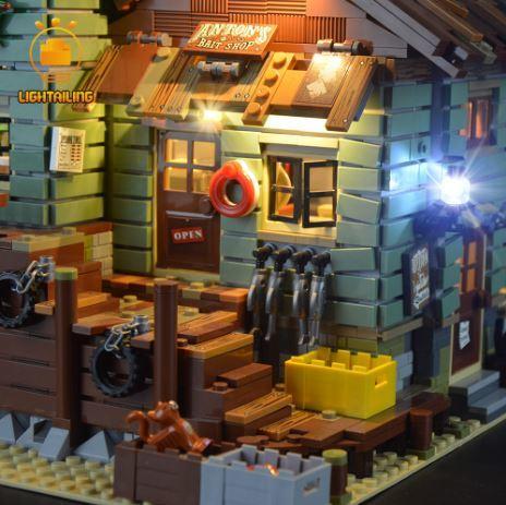 レゴ 21310 [LED ライト キット +バッテリーボックス] レトロな つり具屋 Old Fishing Store 電飾 ライトアップ セット