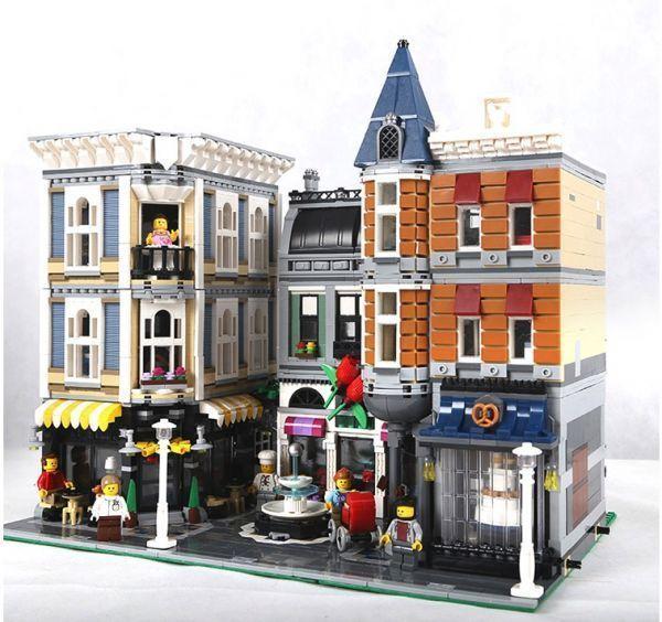 レゴ 互換品 アセンブリスクエア クリエイター 10255